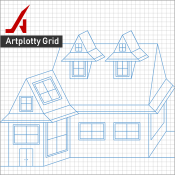 Artplotty Grid - Create art and designs with numbers