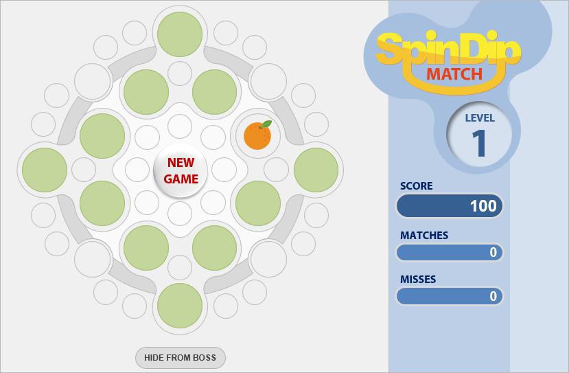 Games - Spindip Match