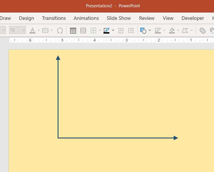 Quickly create a perpendicular arrow in PowerPoint