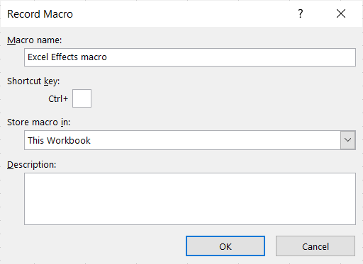 Record a basic macro in Excel - Quick tip